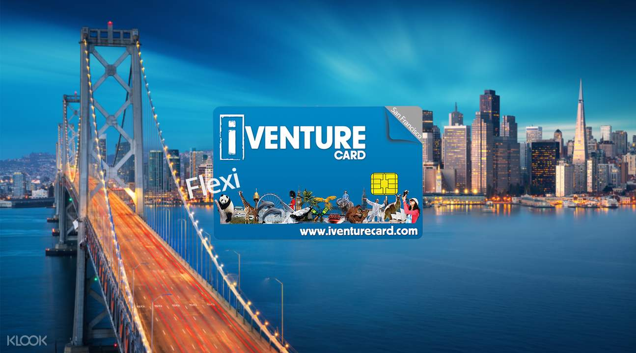 San Francisco iventure flexi attactions