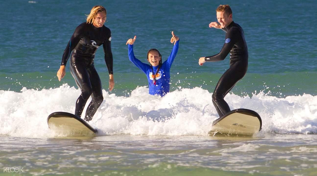 黃金海岸衝浪課程