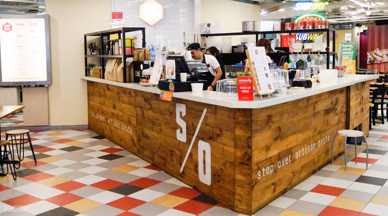 新加坡有機餐廳StopOver Pasta - 萊佛士坊