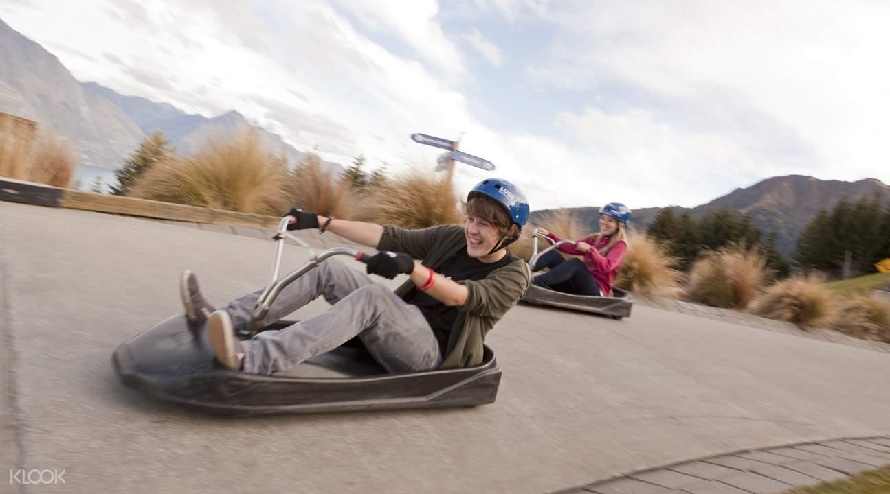 皇后镇滑板车