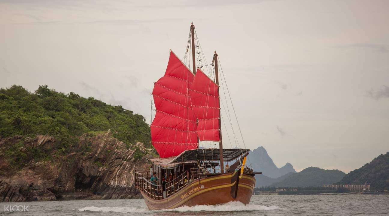 pelayaran ratee petra hua hin