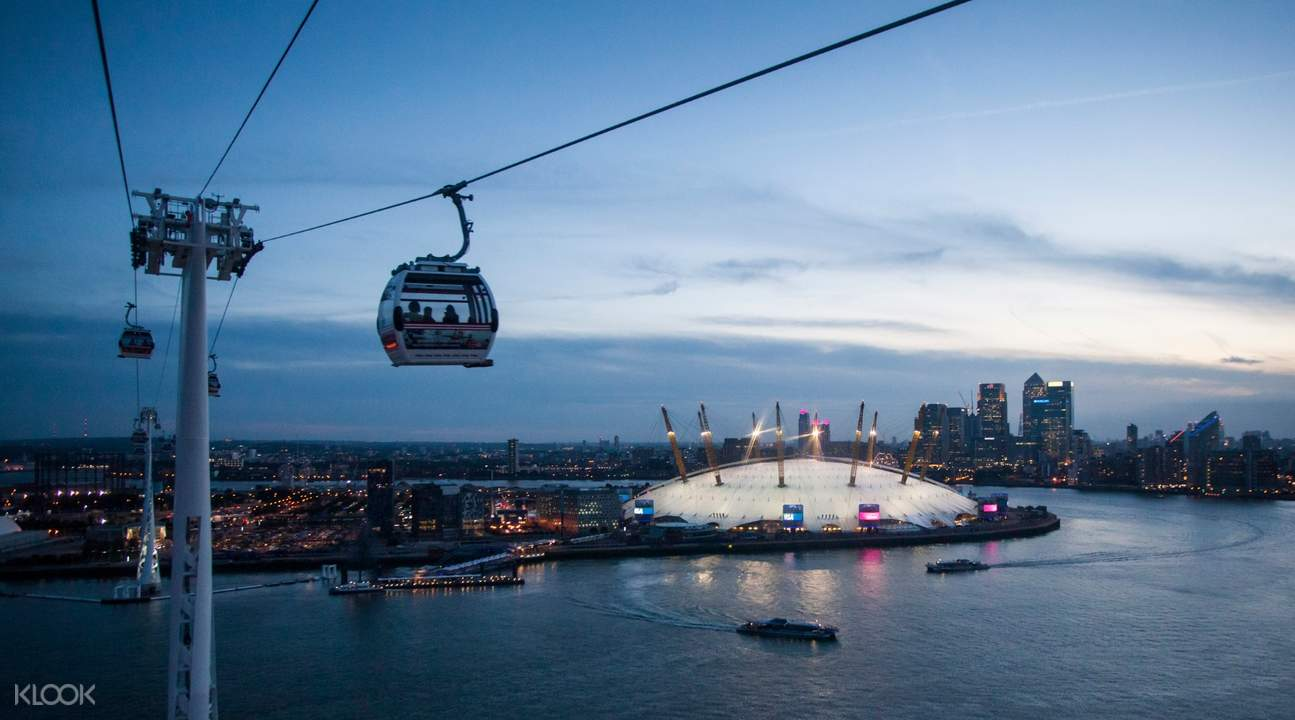 emirates cable car london travelcard united kingdom