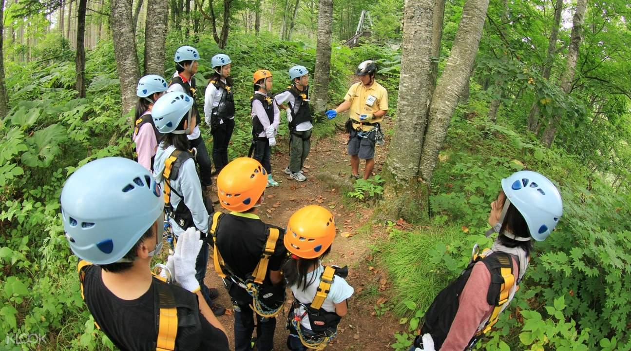 北海道叢林飛躍體驗