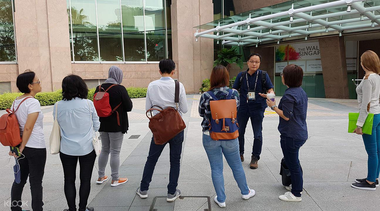 新加坡城市觀光半日遊(徒步/ 電動車可選)