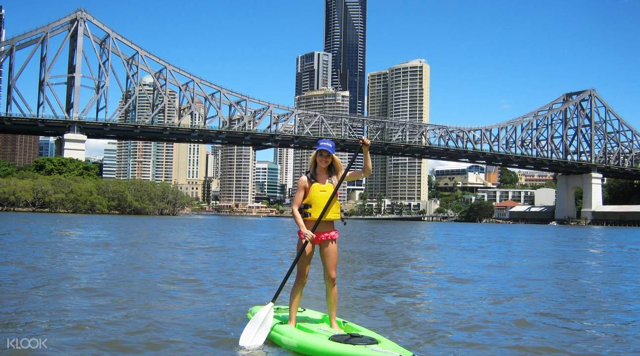 brisbane paddleboard experience