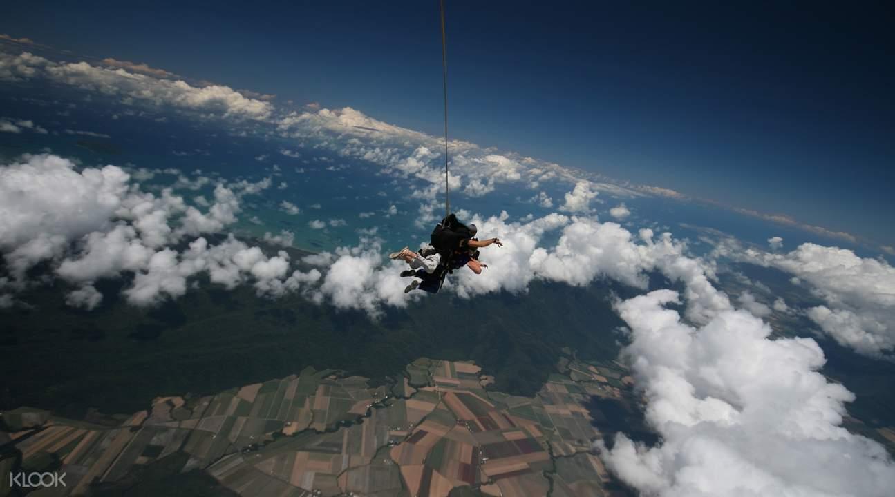 澳洲凱恩斯跳傘