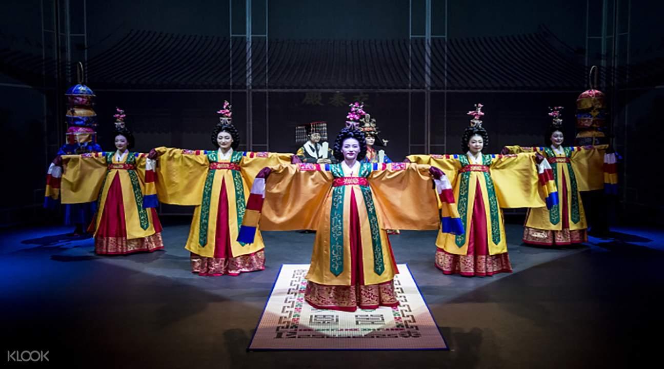 传统音乐舞蹈剧「王妃的盛宴」