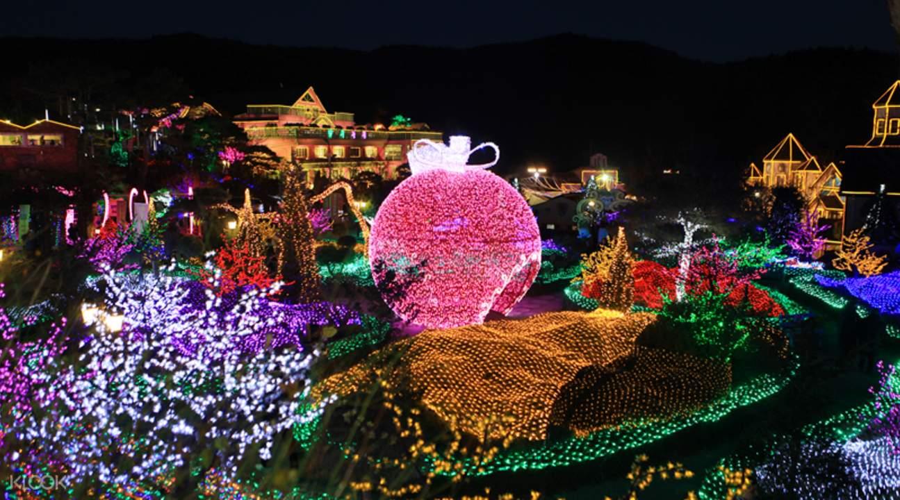 herb island lighting and illumination festival
