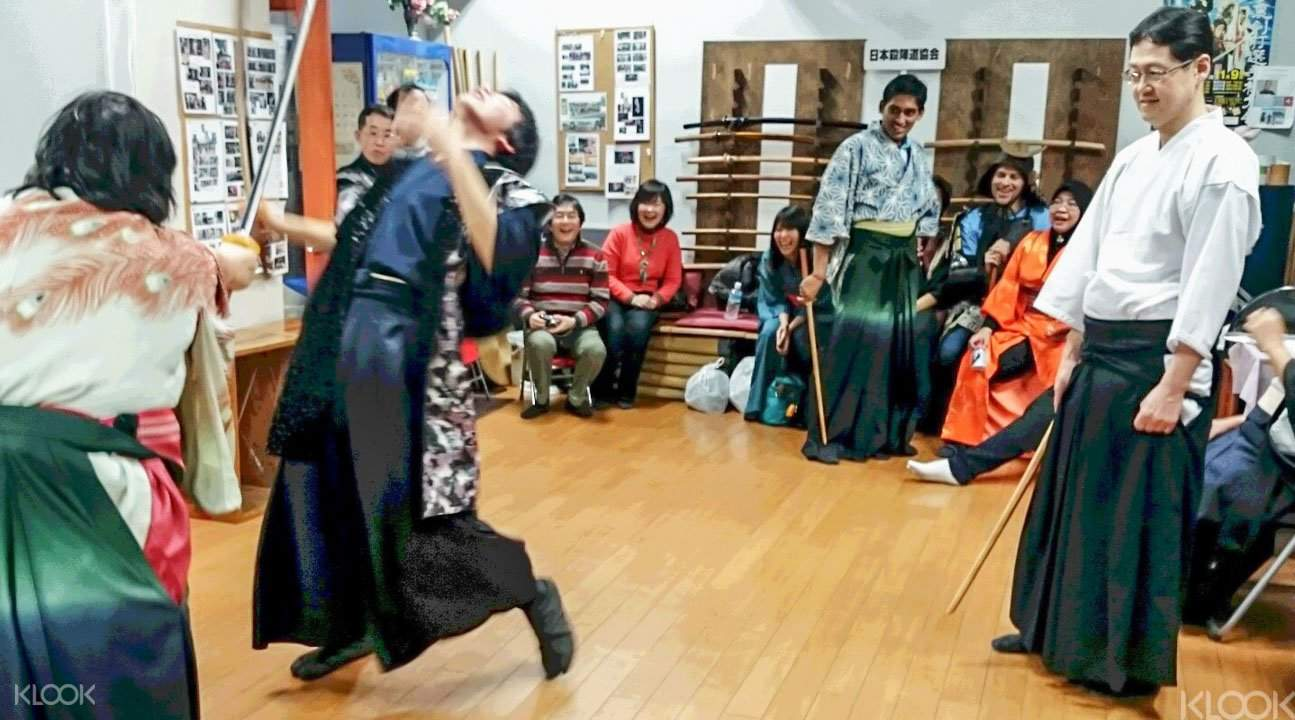 Samurai workshop Japan