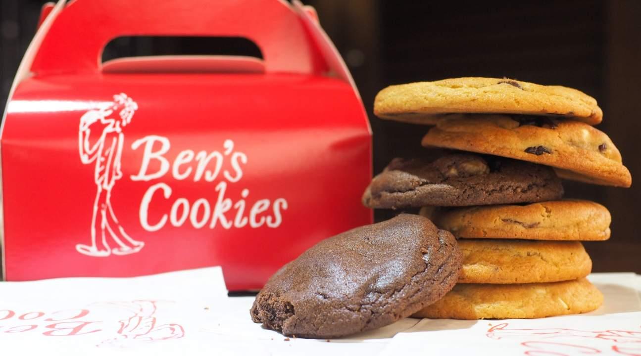 stack of cookies ben's cookies siam paragon bangkok