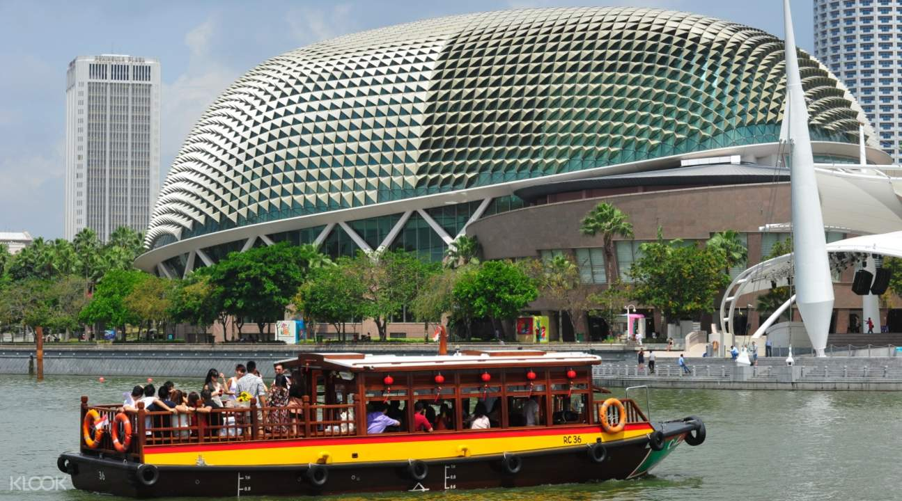 新加坡河游輪觀光
