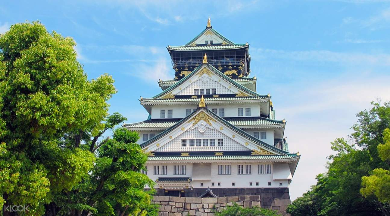 大阪城表演