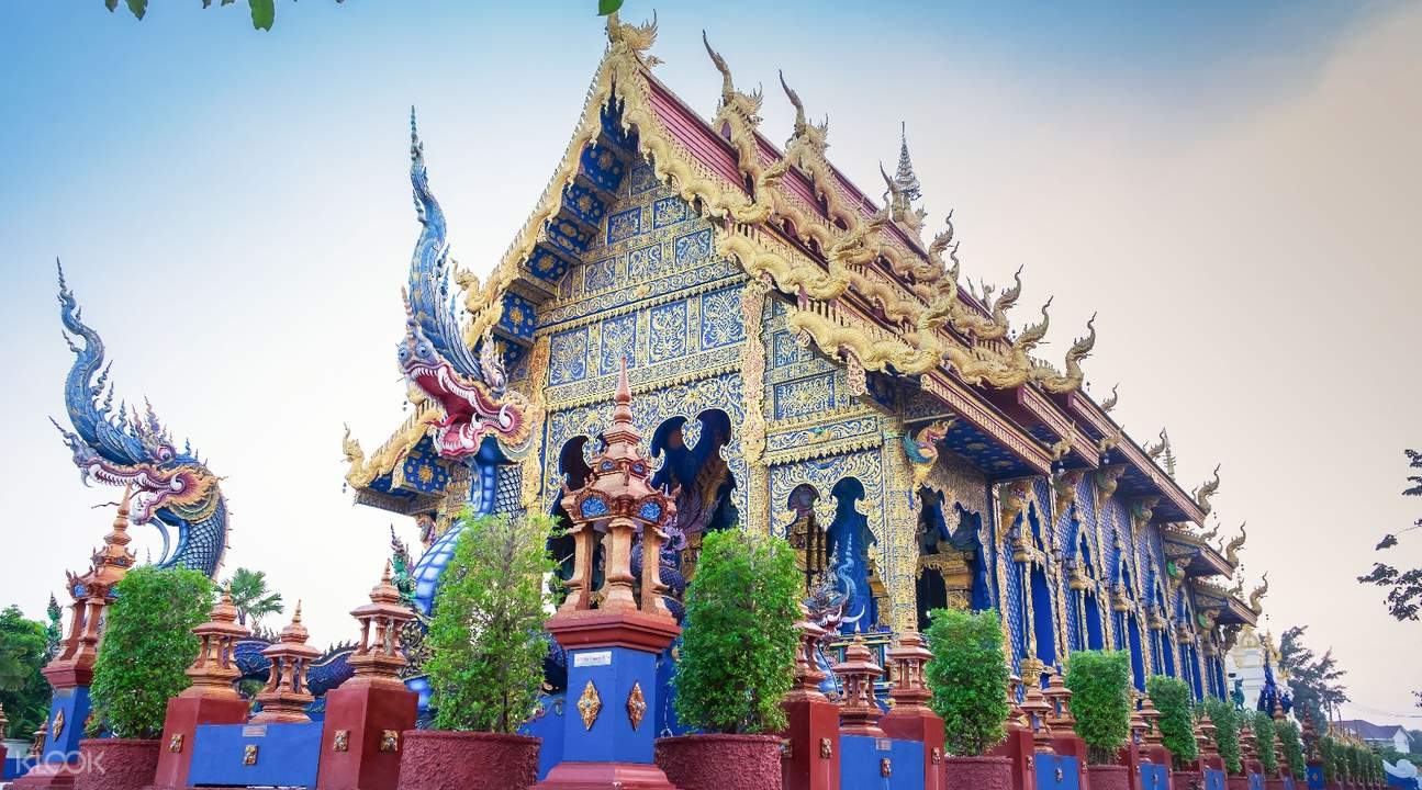 the blue temple in thailand