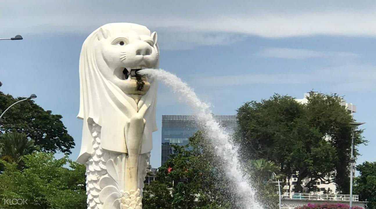 baby merlion in Singapore