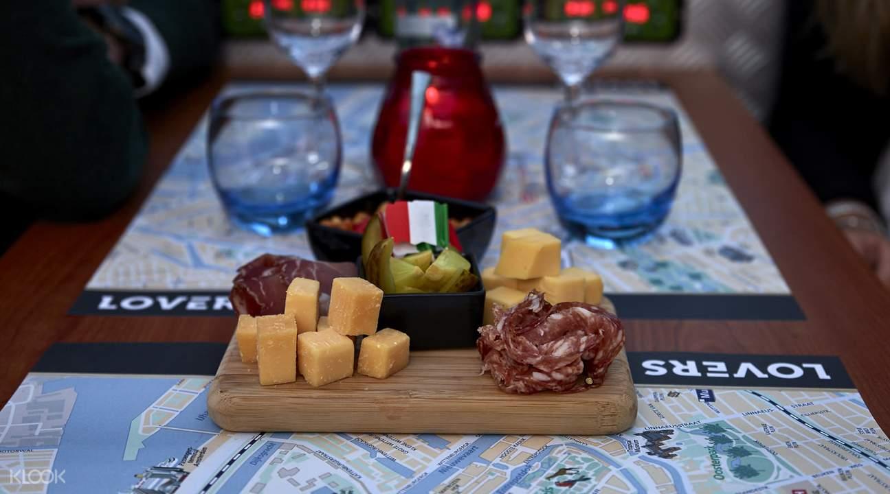 奶酪与美酒游船品鉴之旅