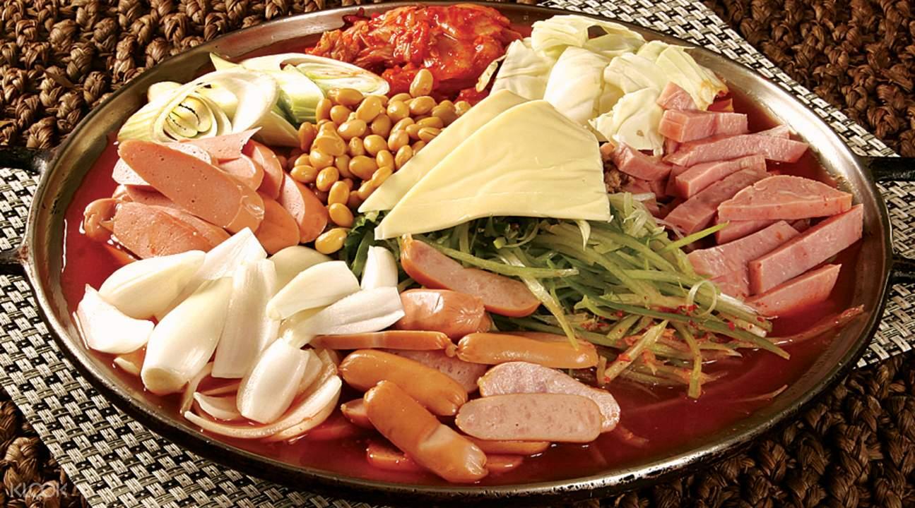 香港尖沙咀新羅寶韓國餐廳