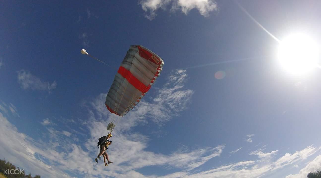 欧胡岛跳伞