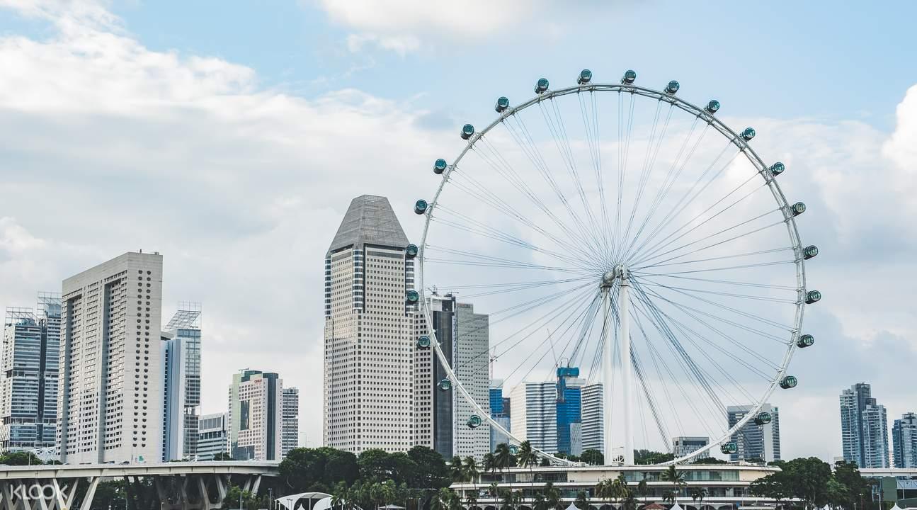 新加坡摩天觀景輪 & 濱海灣花園門票