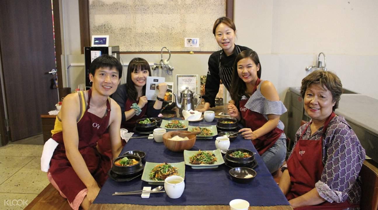 韓食初級烹飪教室