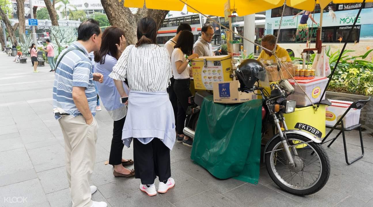 新加坡乌节路Ice Cream Uncles