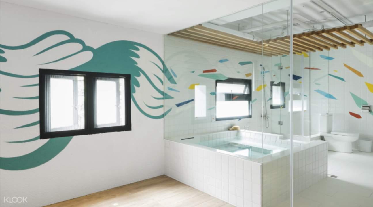 yilan hot spring onion art bath house