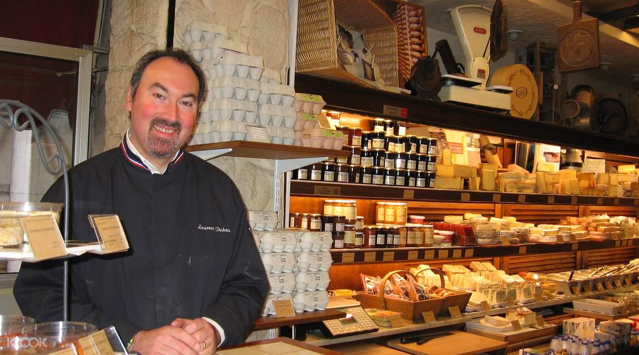 gourmet food tour paris france