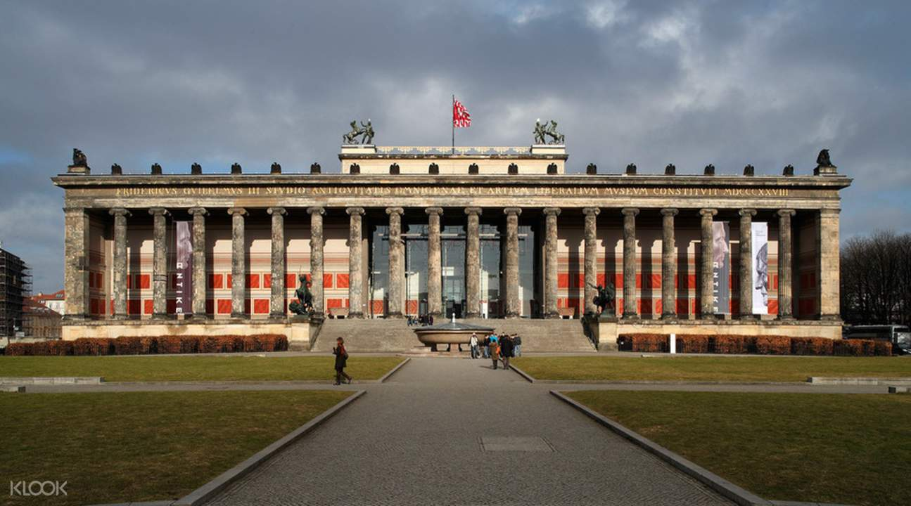 The Front of Altes Museum