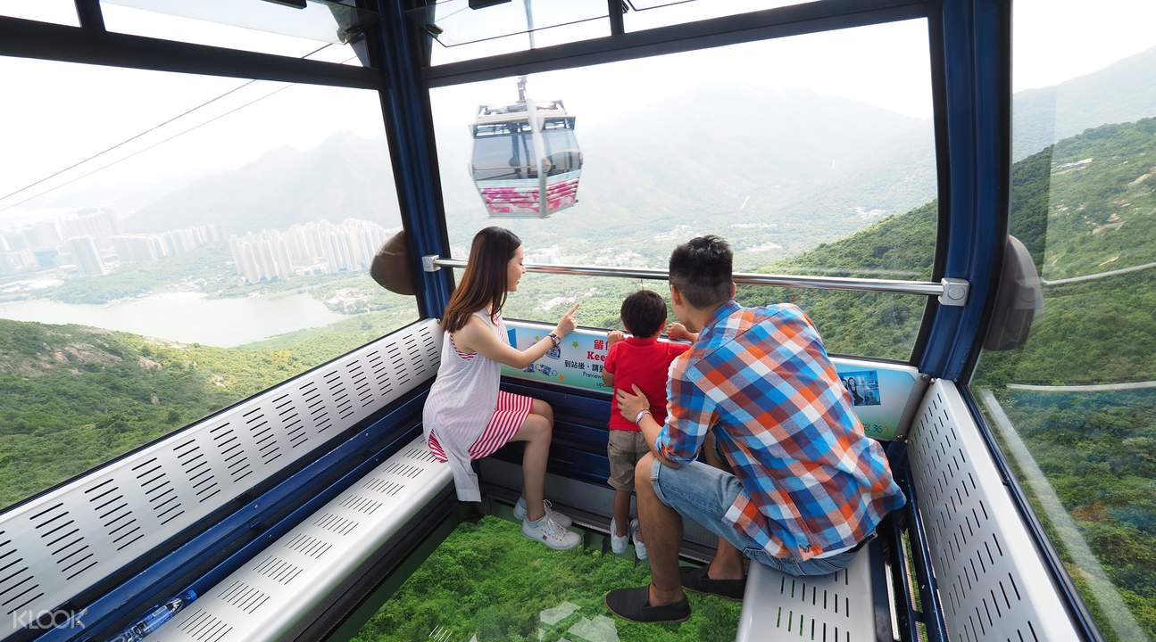 Ngong Ping 360 Discount Cable Car Tickets for Crystal