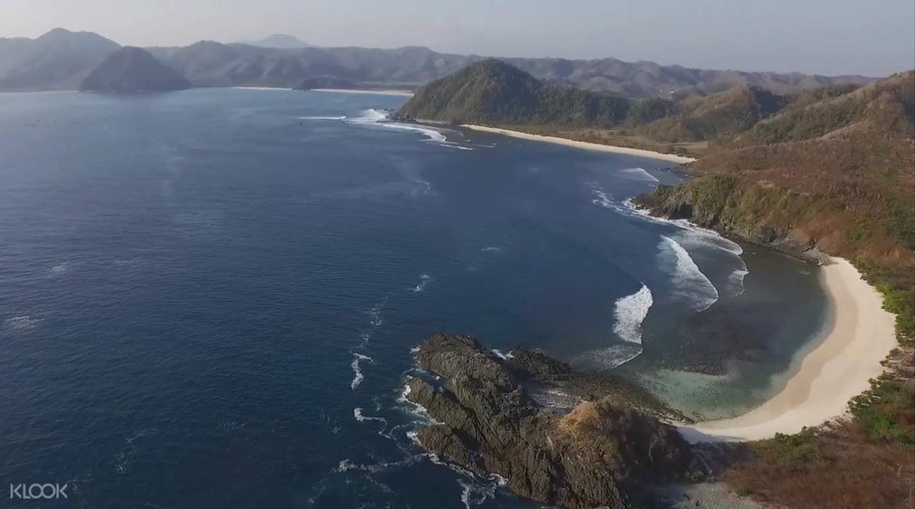 龍目島海灘一日遊