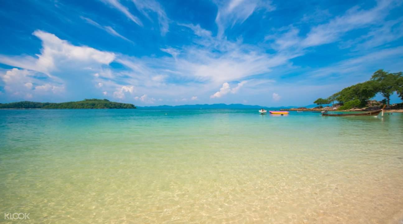 007島與珊瑚島一日游