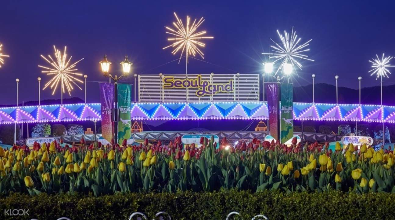 Seoul Land Theme Park Ticket