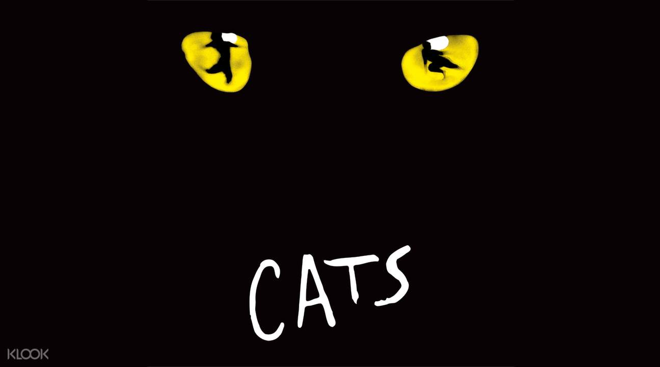 cats broadway show ticket