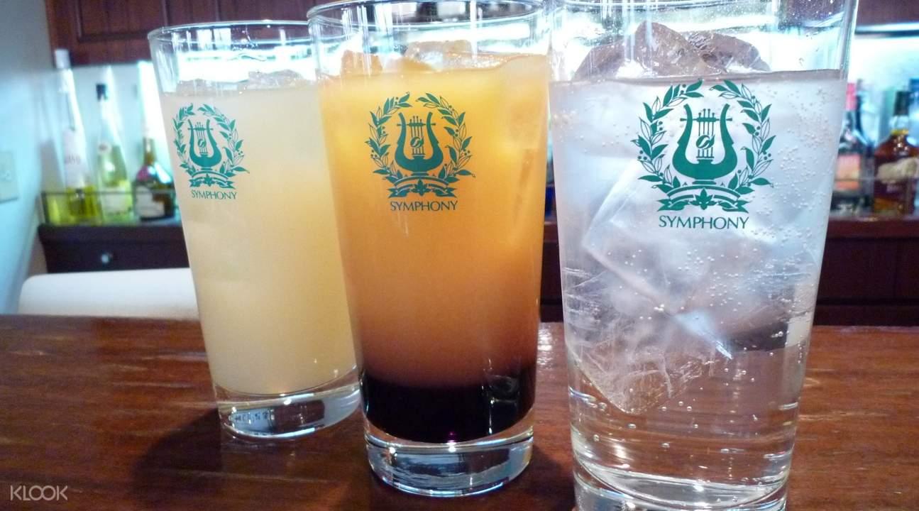 日本东京湾「交响乐」(SYMPHONY)号游轮 酒水畅饮套餐