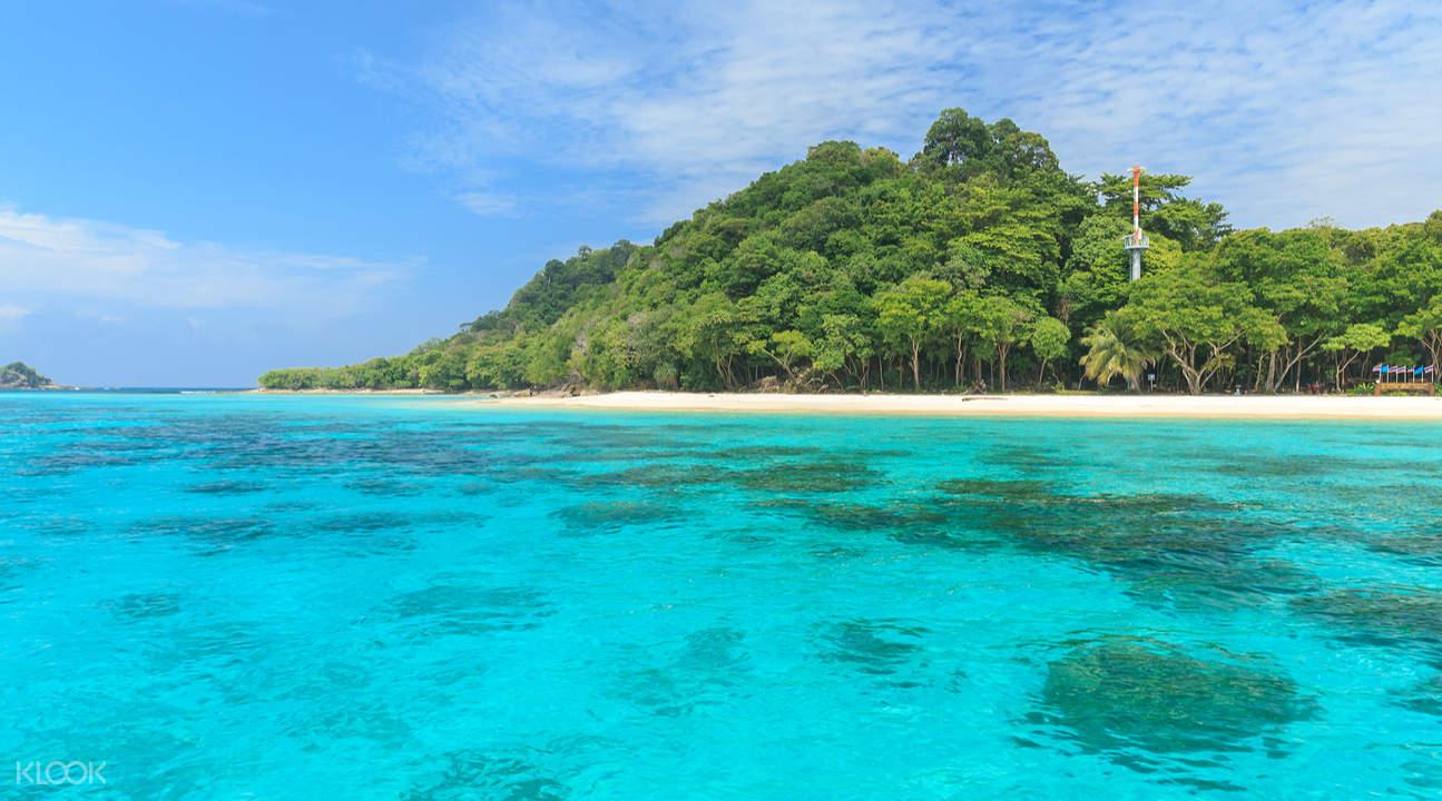 洛克岛Koh Rok & 珊瑚岛一日游(普吉岛出发)