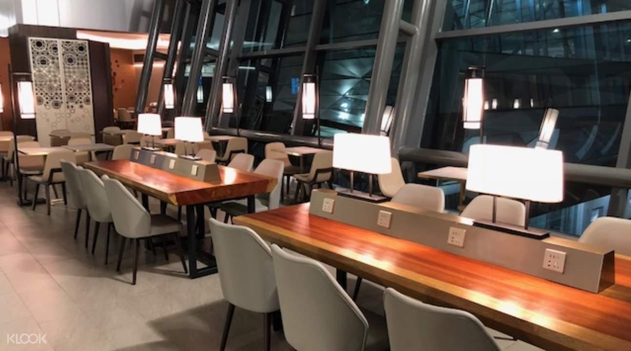 雅加达机场休息室
