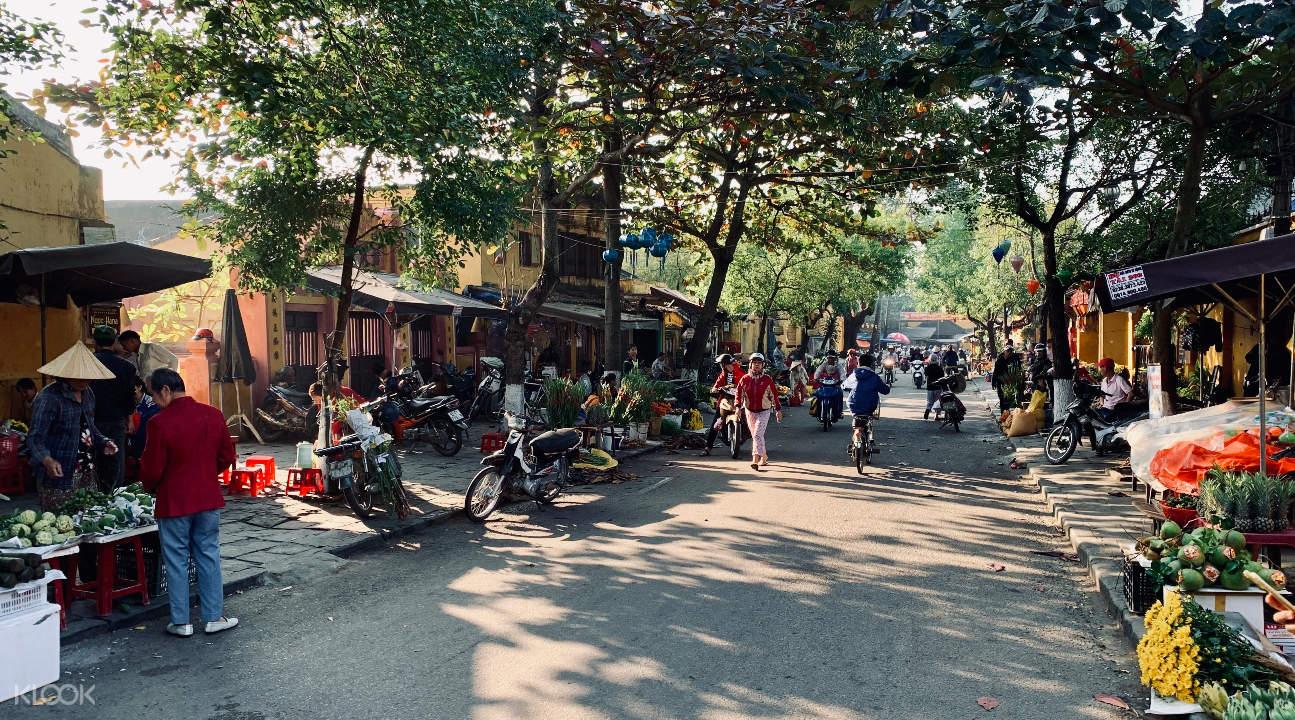 a street in Hoi An