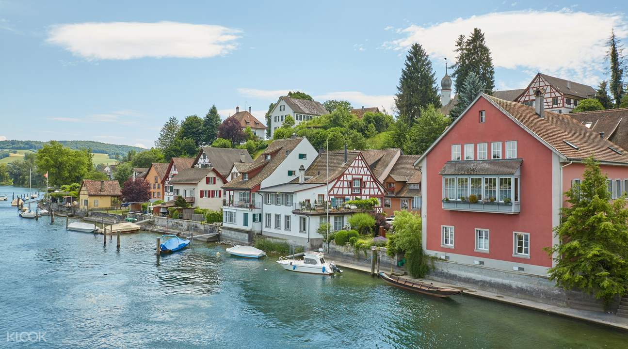 rhine falls and stein am rhein half day tour