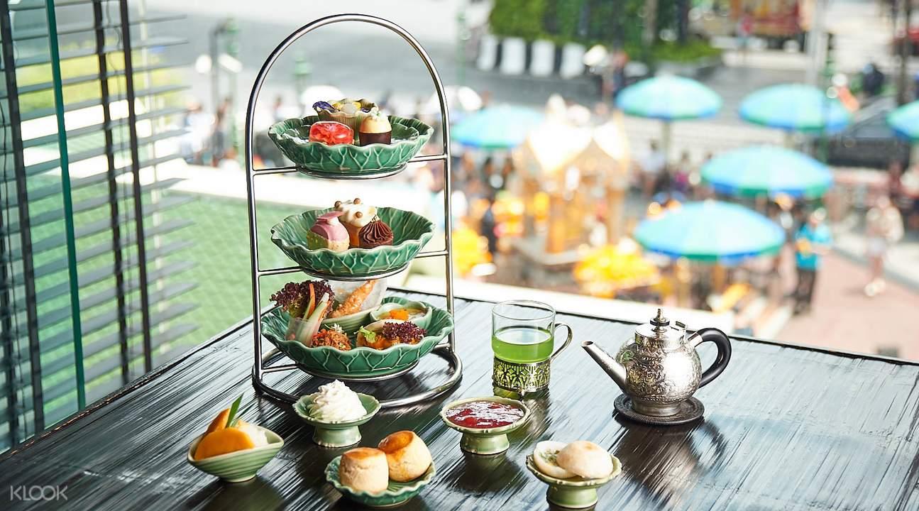 曼谷四面佛下午茶