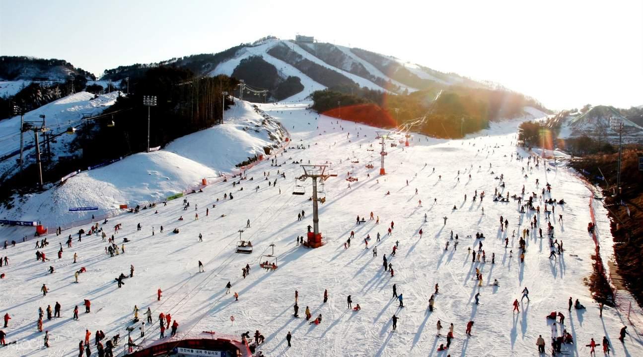 維利希利度假村滑雪道