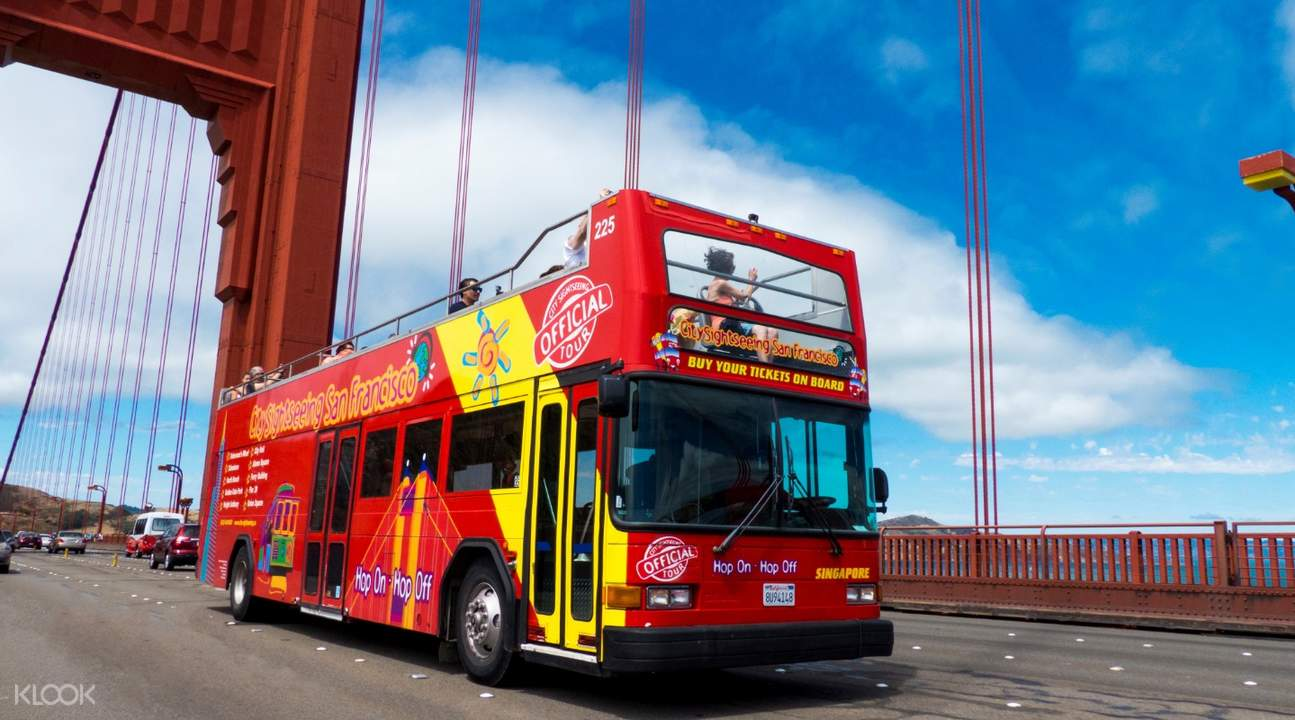 三藩市City Sightseeing城市觀光巴士