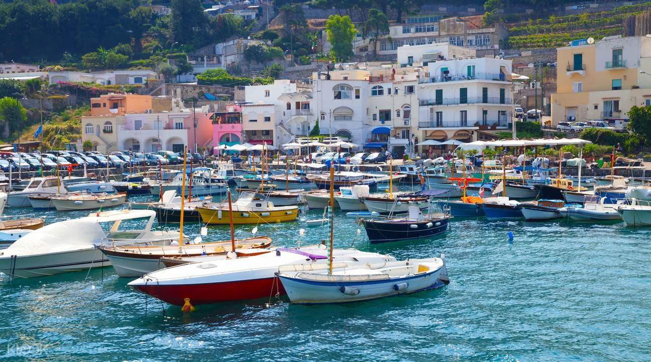 카프리 섬 & 블루 그로토 일일 투어 (로마 출발) - Klook