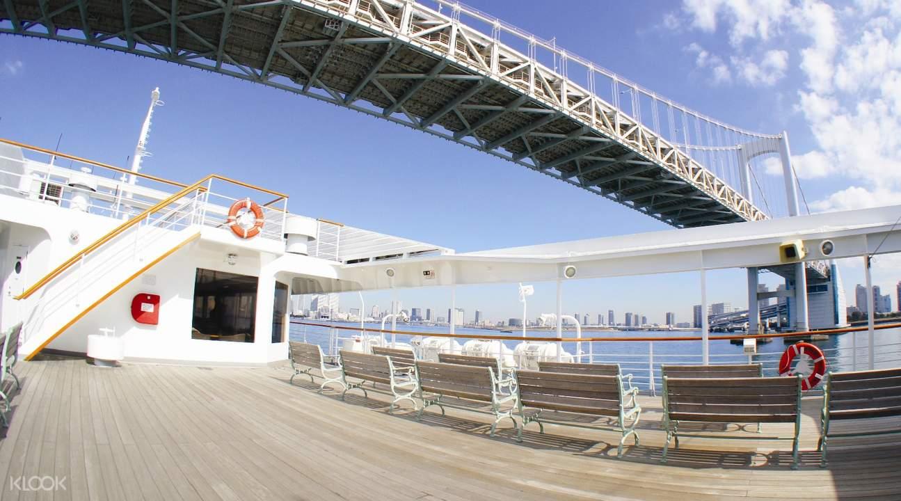 日本東京灣「交響樂」號遊輪下午茶套餐