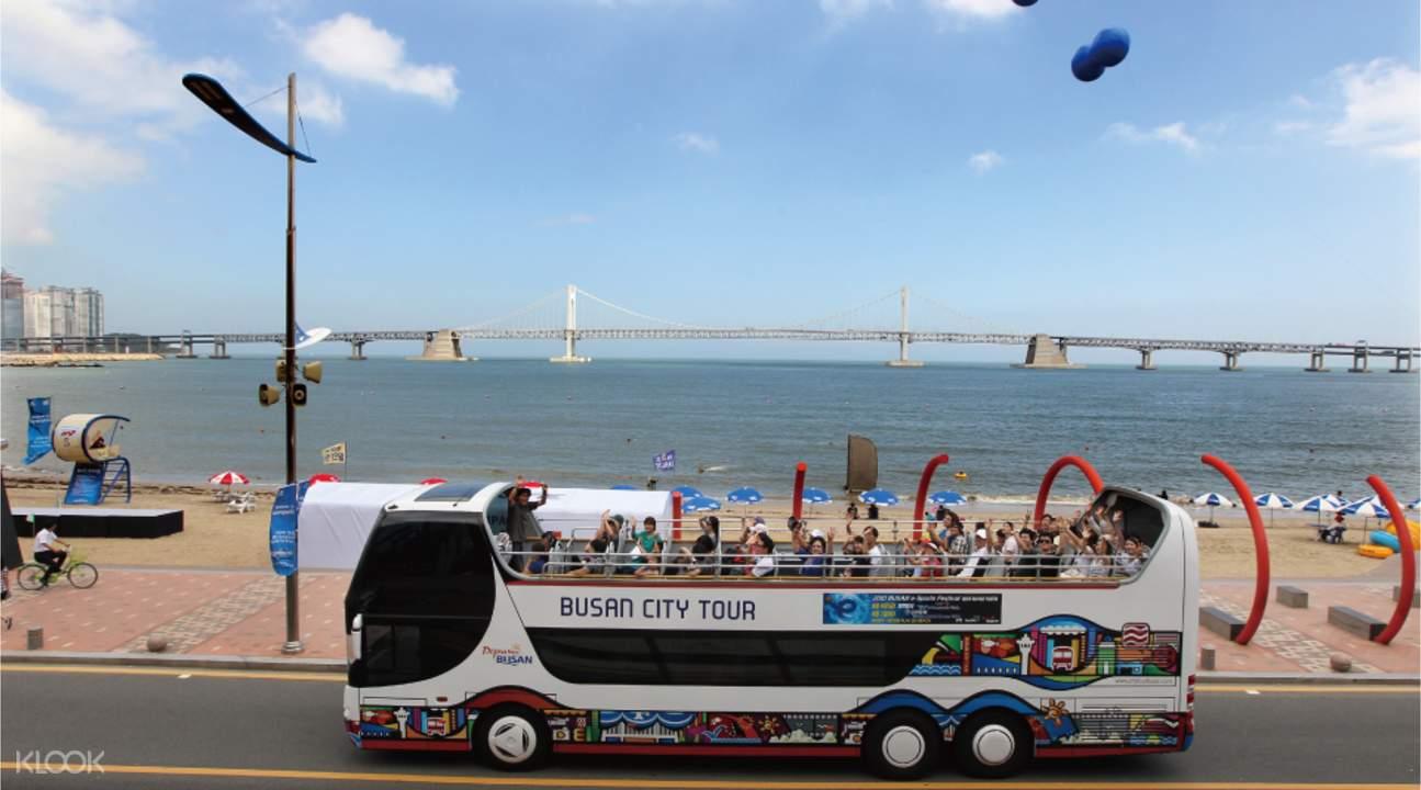 BUTI busan city tour bus