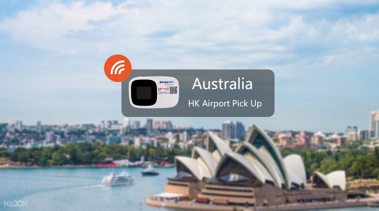 Pocket wifi device for Australia