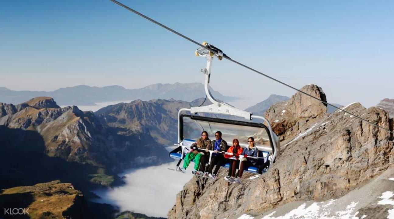 鐵力士雪山(Mount Titlis)纜車一日遊