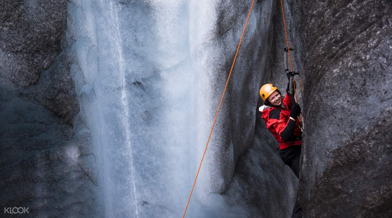 冰島冰原腹地徒步& 攀冰體驗