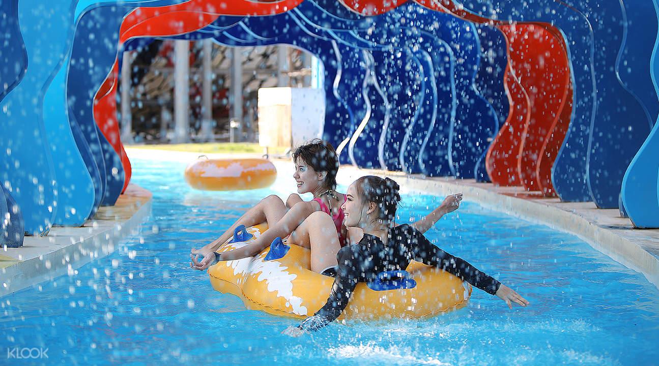 Santorini Park Waterventures Day Pass Hua Hin