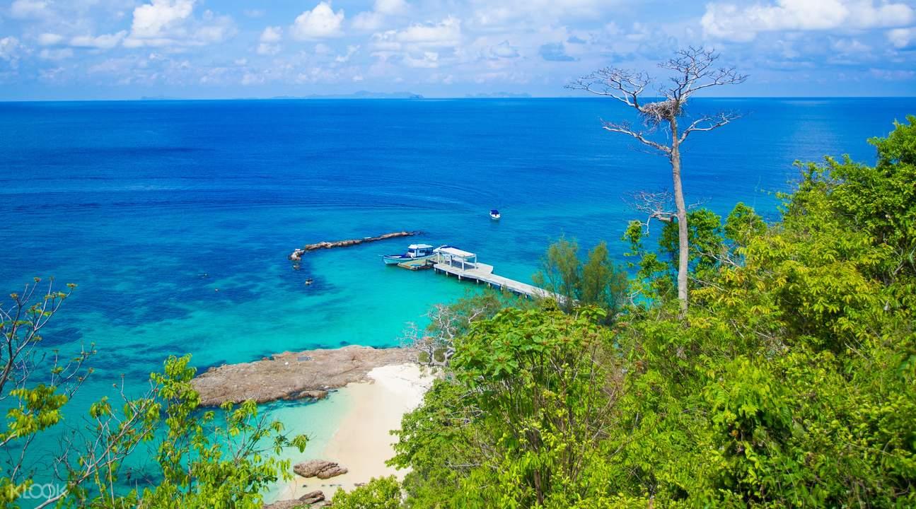 racha yai island maiton island tour