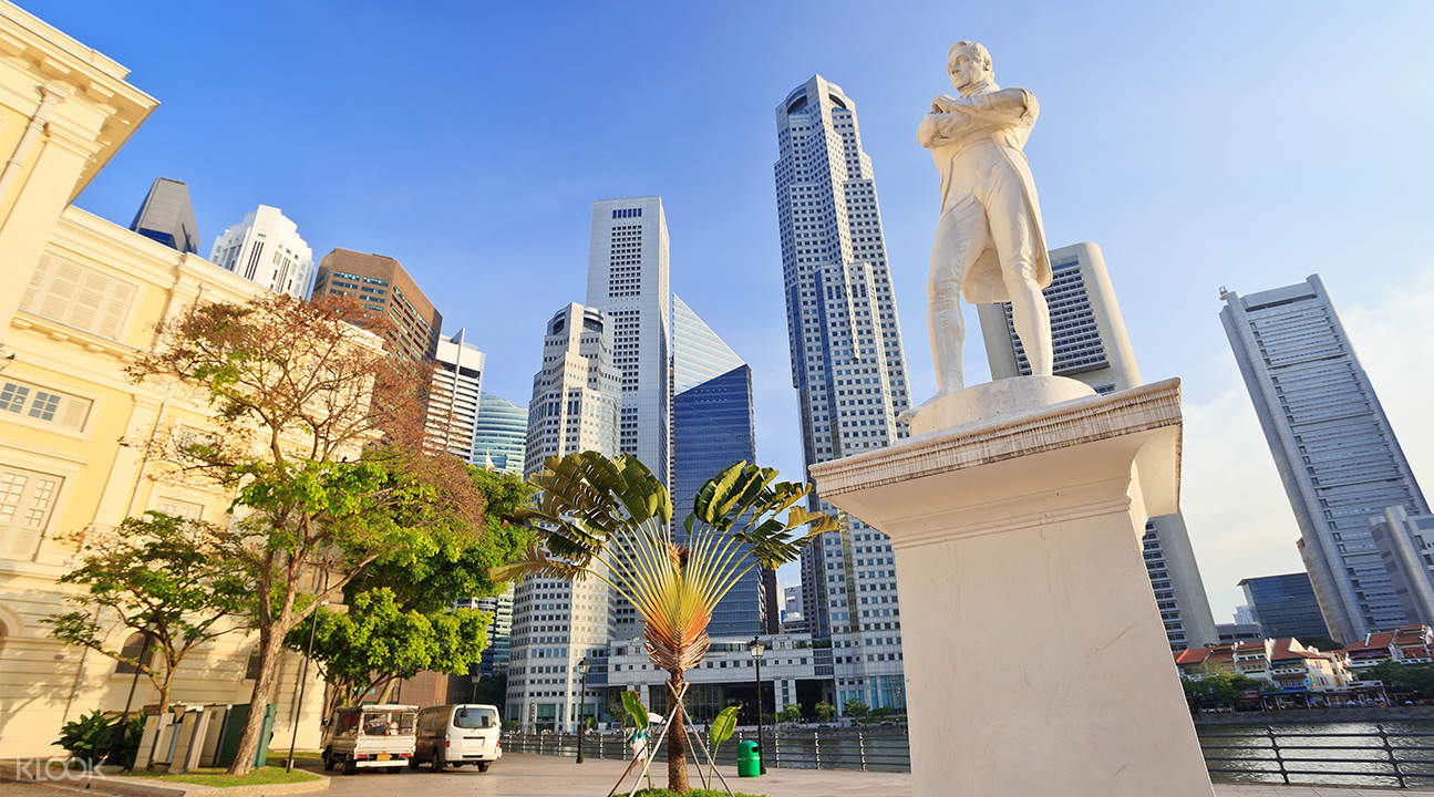 新加坡斯坦福德·萊佛士雕像