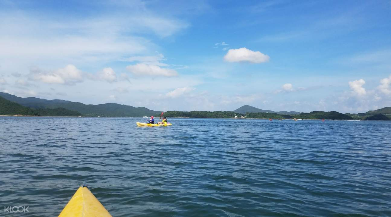 2D1N Kayaking and Camping at Sai Kung